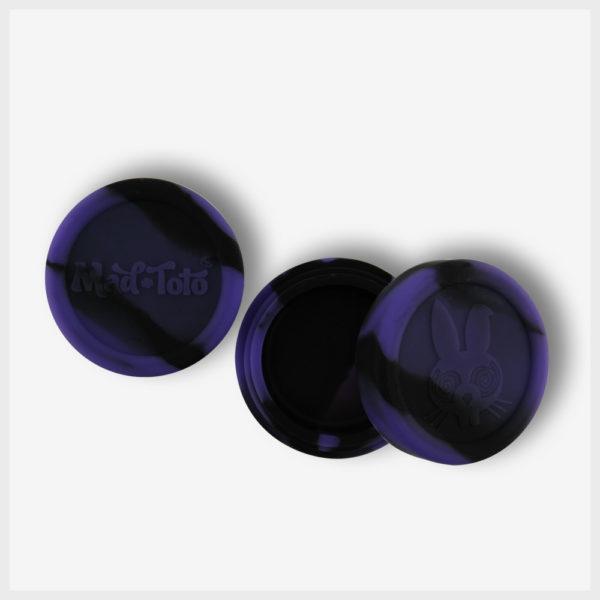 Mad Toto Silicone Jar - Purple / Black