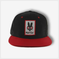 Mad Toto Flat Brim Hat - Red / Black