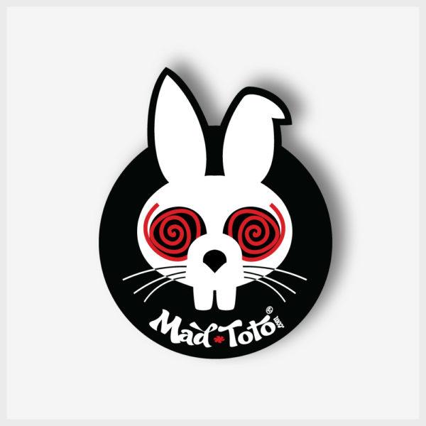 Round Sticker - Mad Toto