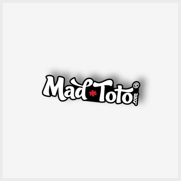 Small Sticker - Mad Toto