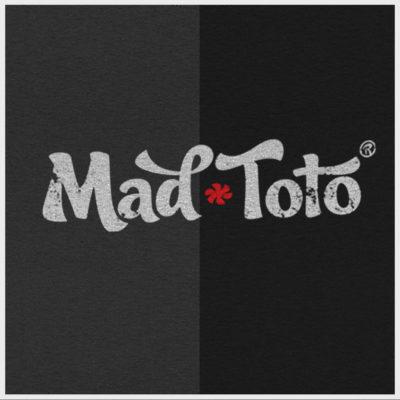 420 MadToto Distressed Logo Black & Grey