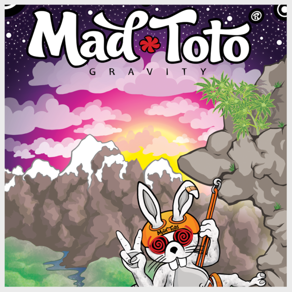 Mad Toto - Gravity Poster