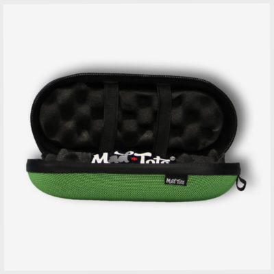 Green XL Tube Case Inside Mad Toto 420 Stash Kits/Stash Case
