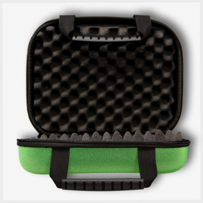 Large Green Tote Inside- Mad Toto 410 Stash Case/Pipe Case/Bubbler Case