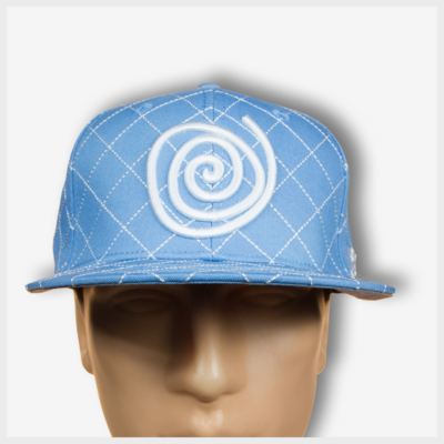 Mad Toto CrissCross Hat - Baby Blue Front view 420 Apparel