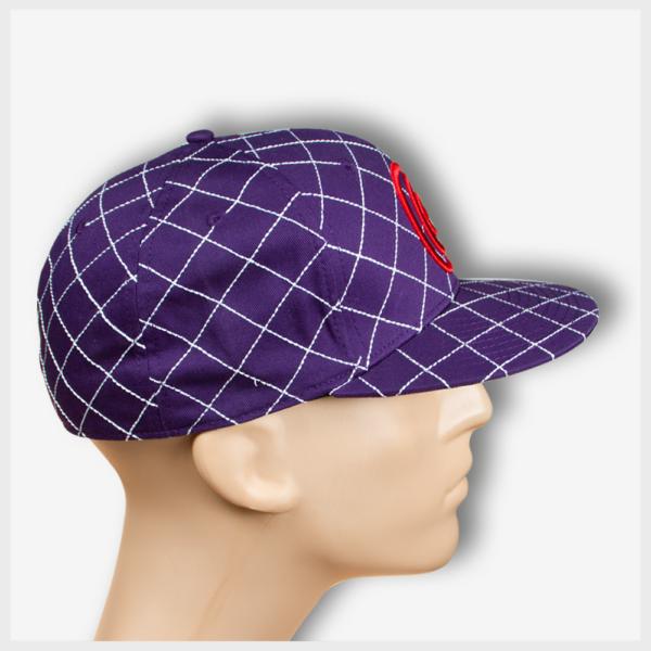 Mad Toto CrissCross Hat Right View - Purple 420 Apparel