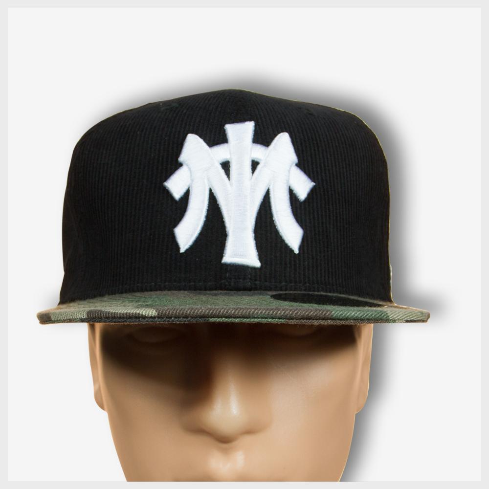 Toto MT Corduroy Snapback (Black Camo) Hat - Mad Toto 420 Apparel aac180a08210
